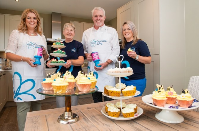Redrow Homes and Bake Off Stars Unite Against Dementia on Cupcake Day