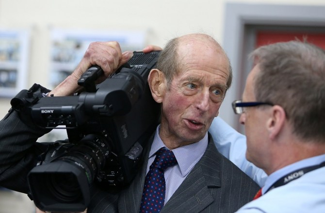 HRH The Duke of Kent visits Sony UK Technology Centre