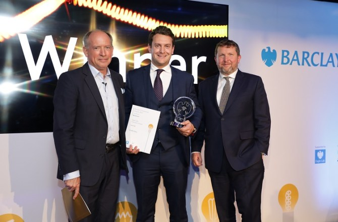 Welsh Firm Scoops National Barclays Eagle Lab Award