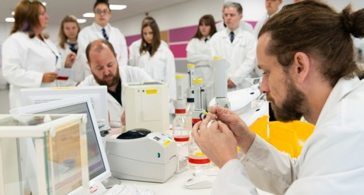 Cardiff Students go Behind the Scenes at Cansford Labs