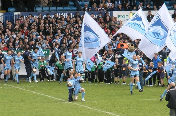 Cardiff Blues Join Forces With Energy Relief to Launch Fundraising Drive Across Wales