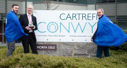 Cartrefi Conwy Honoured in Sunday Times Top 100 Competition