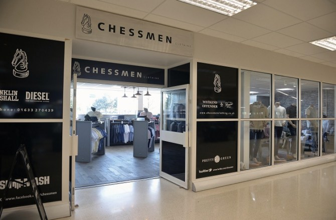 New Look for Iconic Newport Store Chessmen