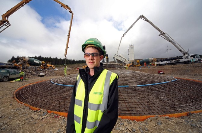 North Wales Wind Farm Scheme Reaches Major Milestone