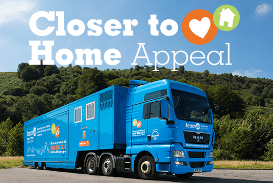TenovusCancer Charity Secures £750,000 for World's Largest Mobile Chemotherapy Unit