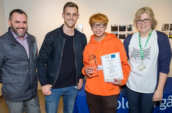 Coleg Gwent Reigns Supreme in Graphic Design at Skills Competition Wales