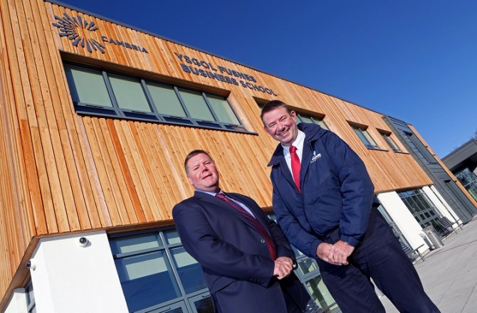 North Wales Construction Firm Celebrates Completion of £3M New Business School
