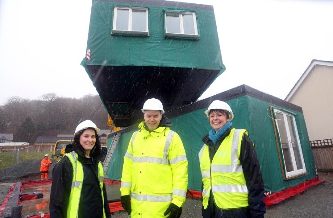 Construction Starts on Grŵp Cynefin's Innovative Homes