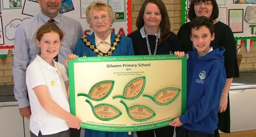 Gilwern Primary School Wins Recognition for Healthy Lifestyle Support