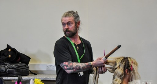 Celebrity Hairdresser's Star Turn at NPTC Group of Colleges