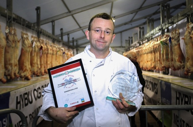 Welsh Butchers Prepare for Top Butchery Competition