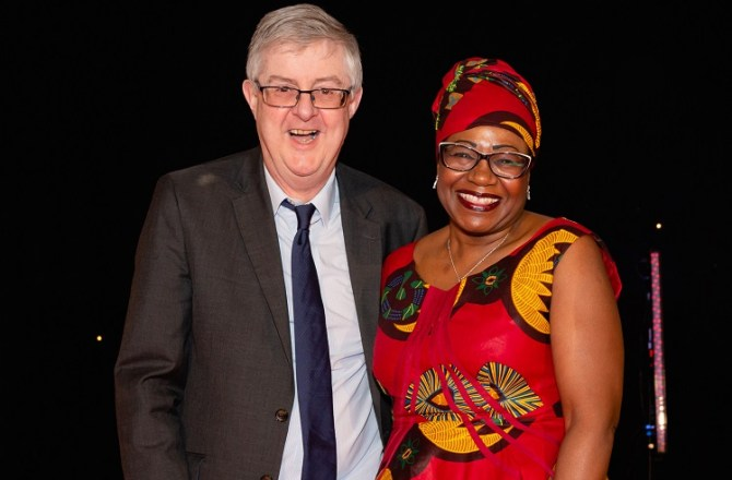 Double Honours for NTfW Equality and Diversity Lead Humie Webbe