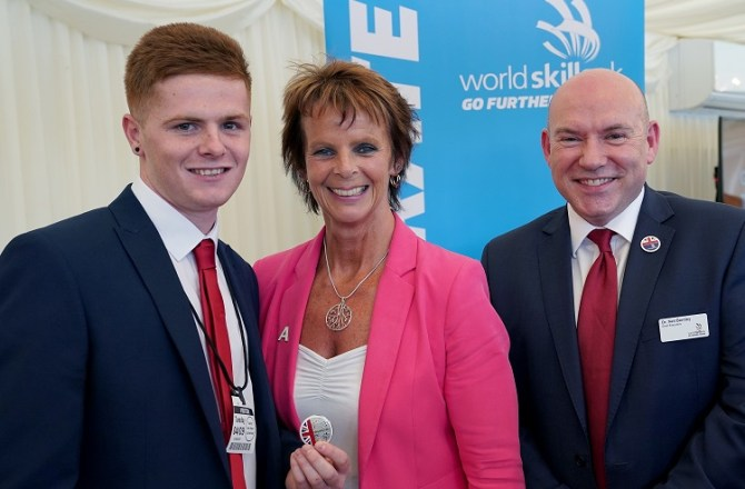 High Flying Student Heads for EuroSkills Show Finals