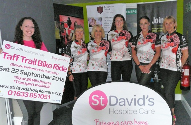 Fitness Instructor Takes on Charity Bike Challenge