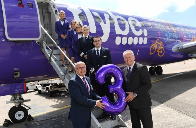 Flybe Reinforces its Commitment to Wales