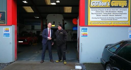 Bank Funding Drives Expansion at Carmarthen Garage