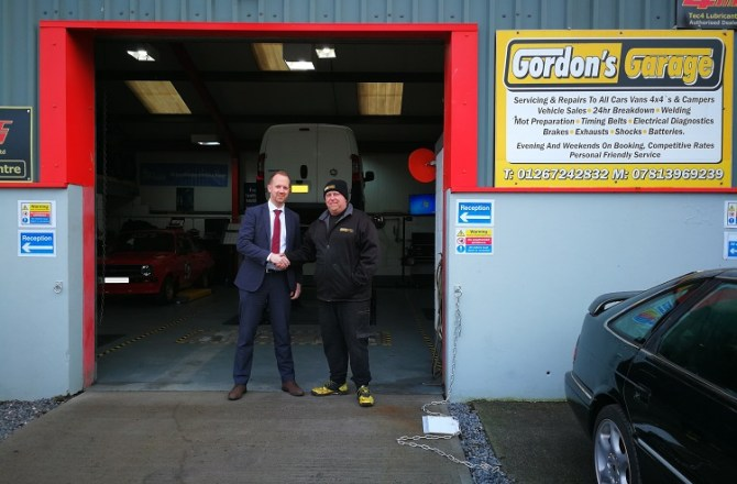 Bank Funding Drives Expansion at Carmarthen Garage