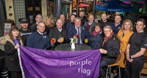 Cardiff Flies Purple Flag for City's Night-time Economy