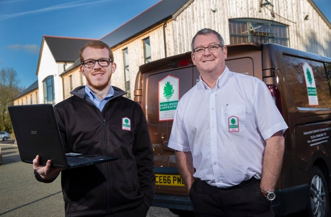 Carpentry Business Hungry for Expansion After Embarking on Digital Journey