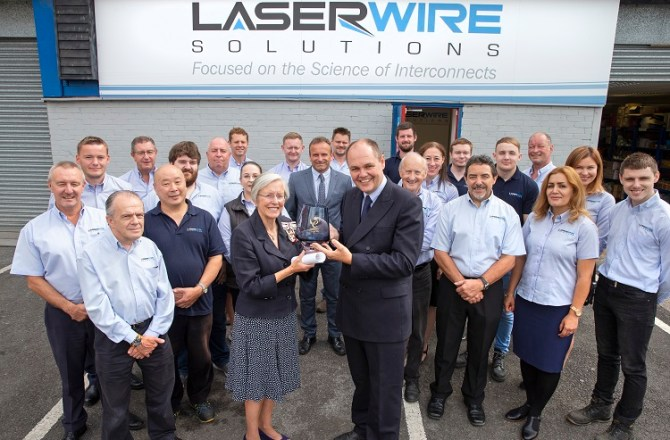Queen's Award for Innovation for Welsh Hi-Tech Manufacturing Firm