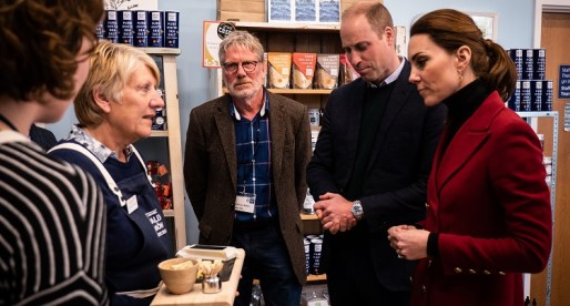 Duke and Duchess of Cambridge get a Taste of North Wales' Finest