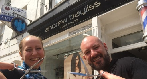 Monmouth-based Andrew Bayliss Hairdressing Secures £280,000 Investment