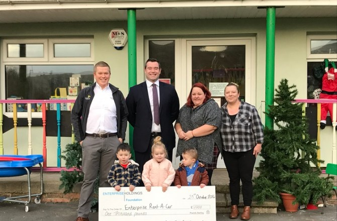 Tredegar Based Commercial Vehicle Dealer Supports Nursery with Vital Fundraising