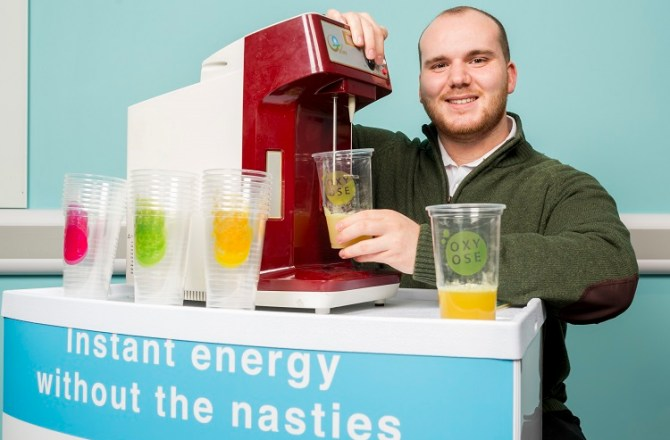 Swansea Student Combines Shows Entrepreneurial Flair with New Health Drink
