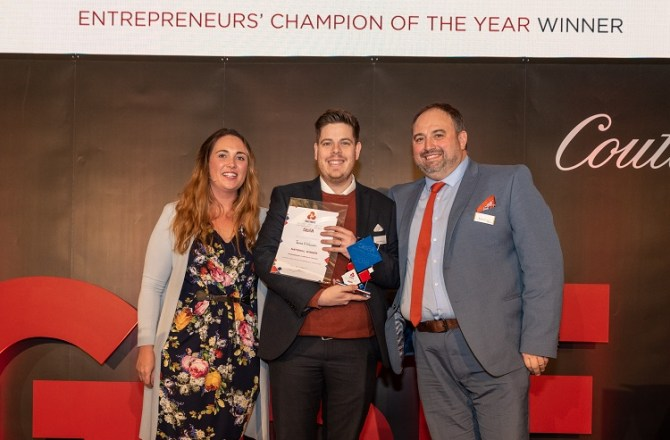 Welsh Innovation Centre Director Named UK Entrepreneurs' Champion
