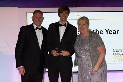 Business Region Celebrates Top Performers at 2016 Caerphilly Business Forum Awards