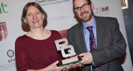 The University of South Wales Accountancy Training Recognised at National Awards