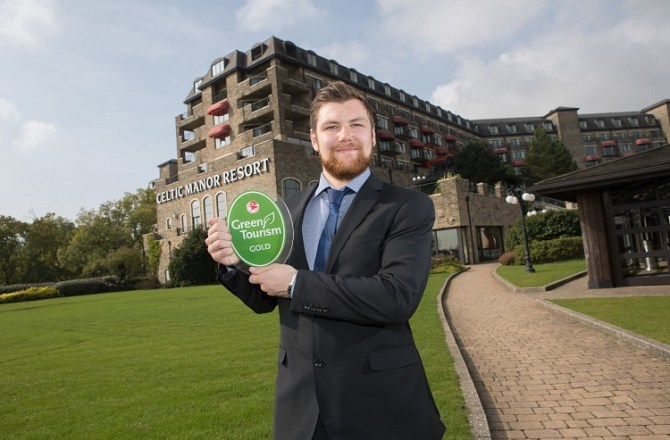 The Celtic Manor Resort Achieves Gold Award in Green Drive
