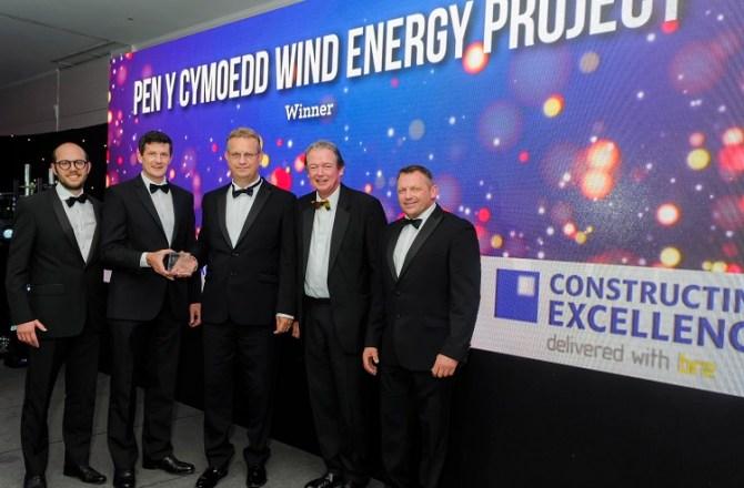 Wind Farm Generates Awards Success for Jones Bros