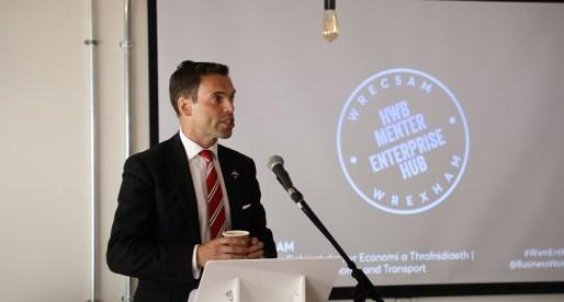 Wrexham Enterprise Hub Officially Open for Business