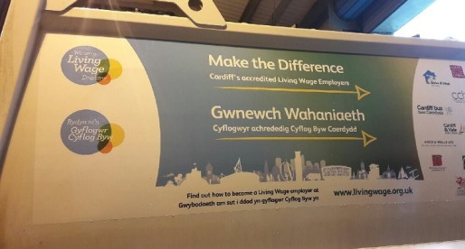 Cardiff Council Joins Other Living Wage Employers to Advertise Importance of a Good Income