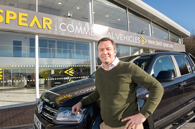 New Van Registrations may be Disappointing but David Spear Bucks National Trend
