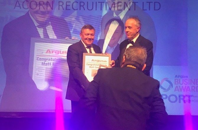 Acorn Founder Honoured by Lifetime Achievement Award