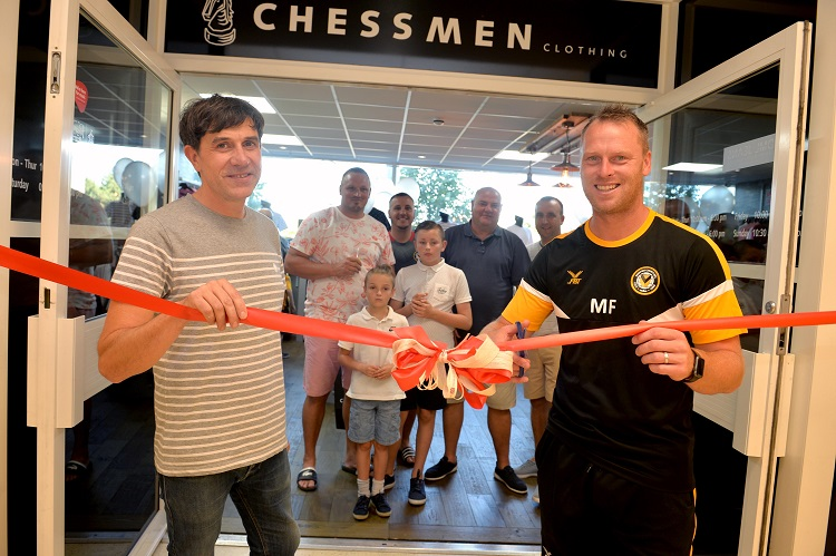 Chessmen Re-Opening with Michael Flynn
