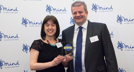 Companies House Achieves Gold in Mind's Workplace Wellbeing Awards