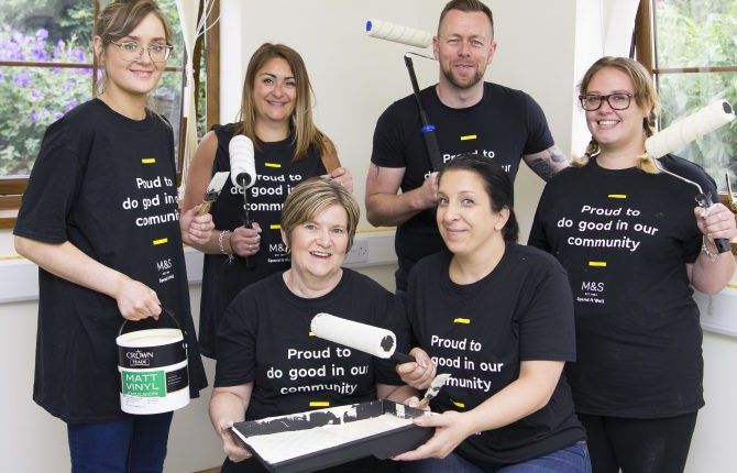 M&S Volunteers in Merthyr Tydfil Bring Community Together