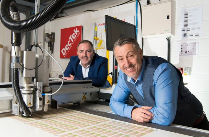 £230,000 Investment in Digital Manufacturing for Dectek