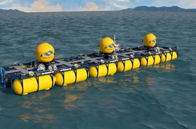 Welsh Marine Renewables CompanyUnveil 'WaveSub' Wave Energy Device