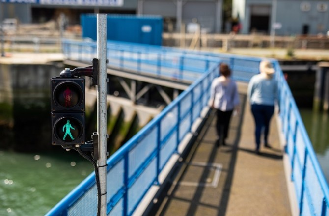 Improved Walking Link Between Milford Waterfront and Hakin