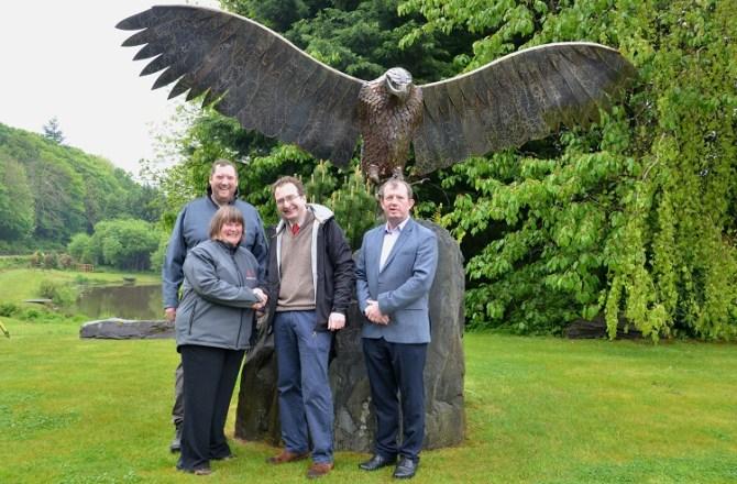 David Bellamy Special Award for Holiday Park's Osprey Project Partnership