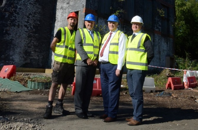 Restoration Begins On Historic Site Thanks To Sell2Wales