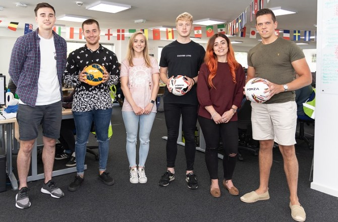 Sports Retailer Hires Three New Signings For Graduate Scheme