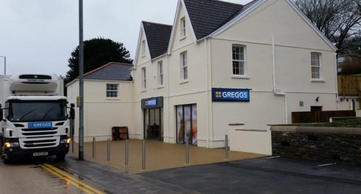 Newly Renovated Building in Neath Welcomes National Retailer