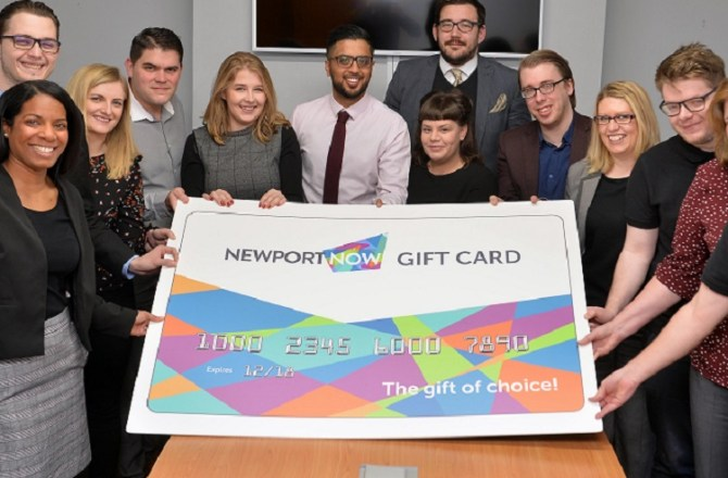 Support Grows for Newport Now Gift Card