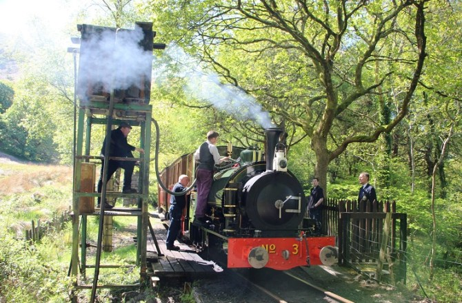Passengers and Revenue Increase at Mid-Wales Railway Attraction