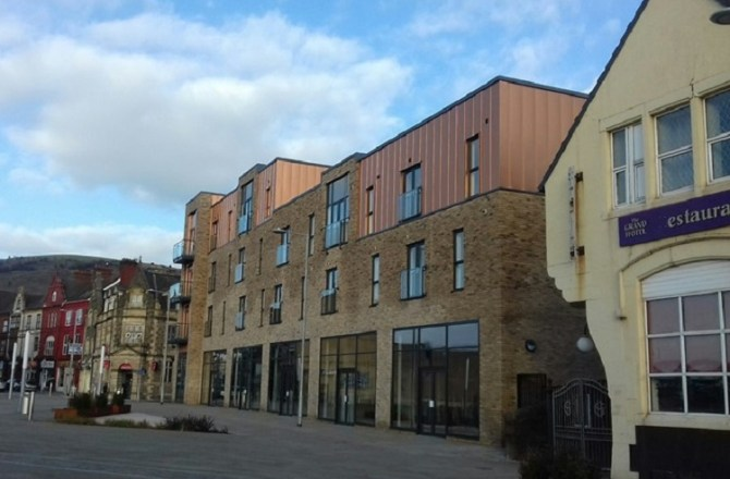 Striking New Town Centre Apartment and Commercial Block Wins Award